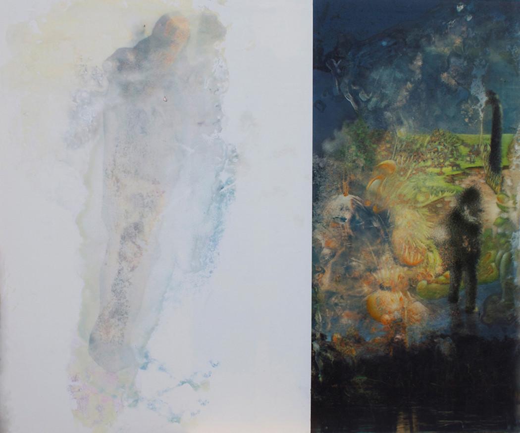 Benny Egli Mein Herz so weiss ( 2014 ) 155 cm x 132 cm